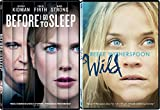 Wild + Before I Go To Sleep DVD Drama Movie Set Reese Witherspoon + Nicole Kidman