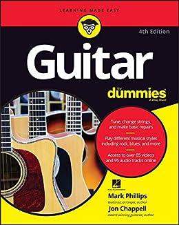 Guitar For Dummies by [Phillips, Mark, Chappell, Jon]
