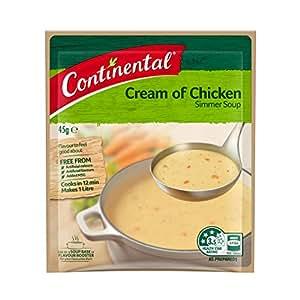 Continental Simmer Soup Cream Of Chicken 45G