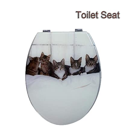 Siège Toilette lunette Modèle De Chat Couvercle De Toilette ...