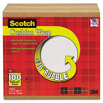 Scotch Cushion Wrap 7961, 12 Inches x 100 - Wrap Bubble Suppliers