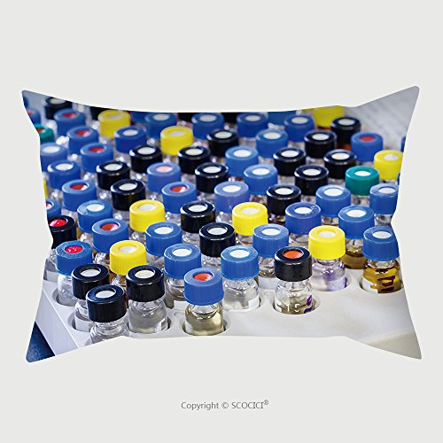 Custom Satin Pillowcase Protector Vials With Inserts And Crimp Septum Caps In Plastic Rack For Liquid Analysis 221342902 Pillow Case Covers Decorative by chaoran