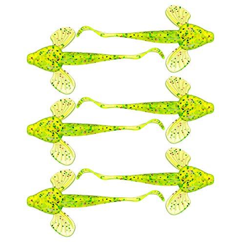(hAohAnwuyg Fishing Lures Bait,6Pcs 10cm Artificial Fish Shape Freshwater Seawater Fishing Lure Bait Tackle - Green)