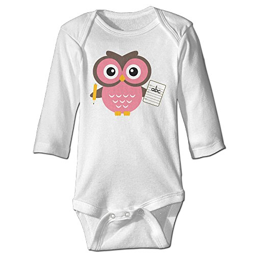 Costumes For Couples Tumblr (Raymond Owl Long Sleeve Bodysuit Outfits White 24 Months)