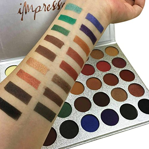 Impressed you 35 Colors Palette Eyeshadow Beauty Glazed