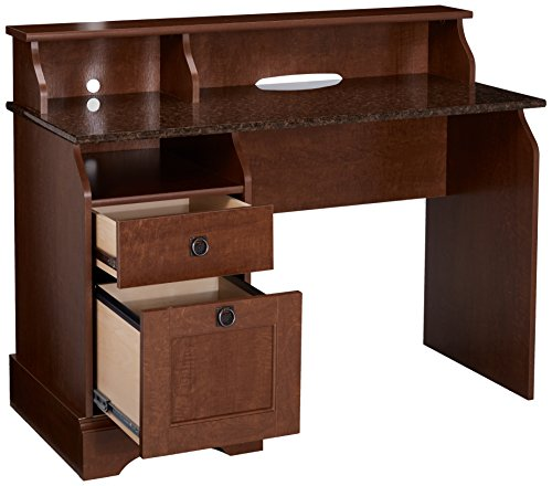 Sauder Graham Hill Desk Autumn Maple Finish Buy Online