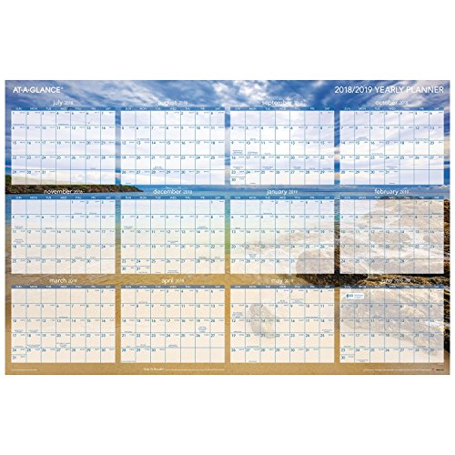 Erasable Planner (at-A-Glance Wall Planner, 24