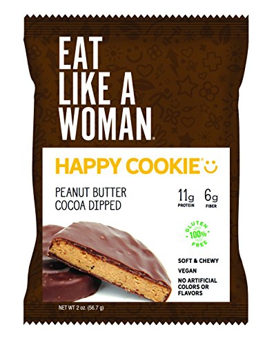 Happy Cookie® Peanut Butter Cocoa Dipped, 2-Ounce, 12-pack