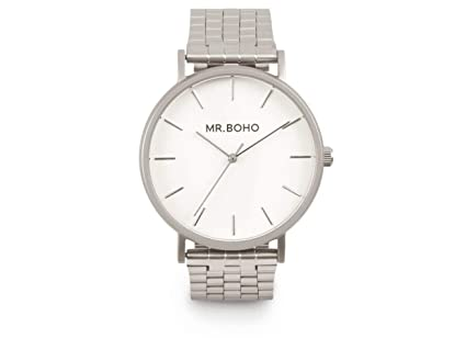 Reloj mr. boho 16-v-iw vintage metallic iron acero