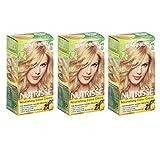 Garnier Nutrisse Permanent Hair Color Non-Drip Formula | Light Golden Blonde Number 93 | 3-Pack