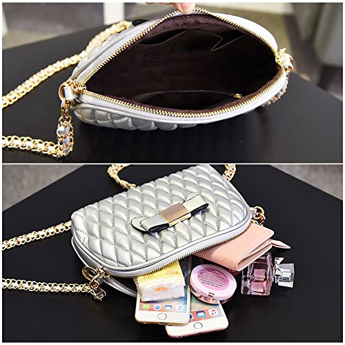 Yoome Elegant Small Für Dating Kette Tasche Bowknot Fold Brieftaschen Für Teen Girls Mini Handtaschen Für Teens