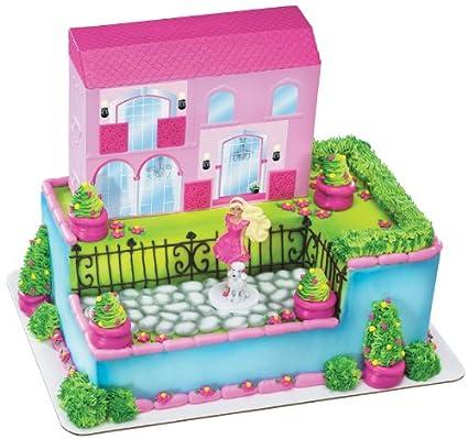 Amazon Com Decopac Barbie Dream House Party Deco Set Toys Games