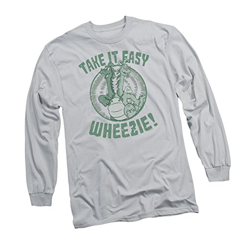 """Take It Wheezie!"" -- Dragon Tales Adult Long-Sleeve T-Shirt"