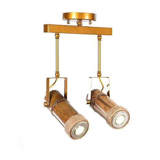 DS Candelabro Foco LED Luz de Pista Tienda de Ropa Bar Lámpara de ...