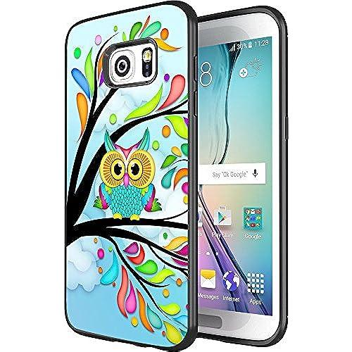 DOO UC(TM) Galaxy S7 Edge Case, Laser Technology for Protective Case for Samsung Galaxy S7 Edge Black Cute cartoon Sales