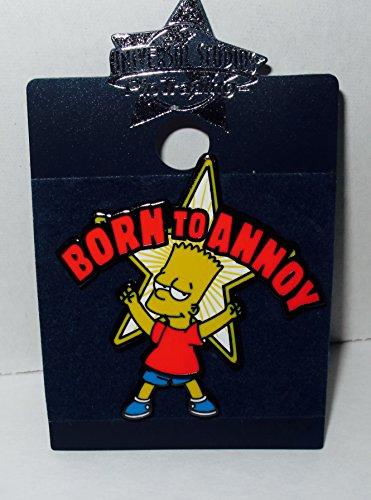 Universal Studios Pin Trading - Simpsons - Bart Born to Annoy Dancing Legs (Studios Simpsons Universal)