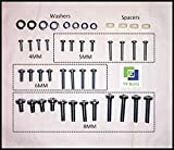Universal TV mounting bolts / screws, washers, spacers