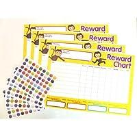 Children's Reward Charts to Reward Good Behaviour, Supplied