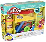 Toys : Play-Doh Toy - Fun Factory Deluxe Playset - Include 6 Tubs of Play Doh Modelling Compound