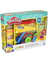Play-Doh Toy - Fun Factory Deluxe Playset - Include 6 Tubs of...