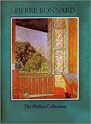 pierre bonnard a selection of paintings from the phillips collection washington dc and the collection of mrs duncan phillips medaenas monographs on the arts