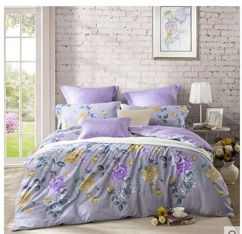 LOVo heimtextilien Carolina Leben Betten vier stücke aus Baumwolle 18 Meter Betten - bettwäsche