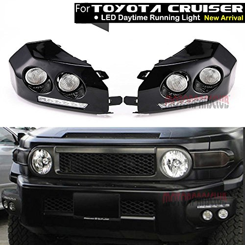 fj cruiser bumper fog lights - 3