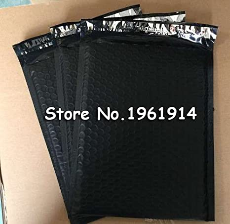Generic negro: 23,5 x 32 cm 30pcs plástico Poly burbuja ...