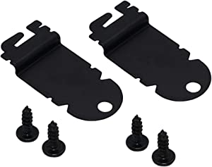 AMI PARTS 8212560 Dishwasher Side Mounting Bracket Kit (2 PACK) - Compatible with Kenmore & Whirlpool Dishwashers - Replaces AP3953705,1201084.