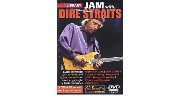 Road Rock International Dire Straits - Lick Library Jam + CD - Guitare Teoría y PEDAG ogik - Guitarra eléctrica: Amazon.es: Instrumentos musicales