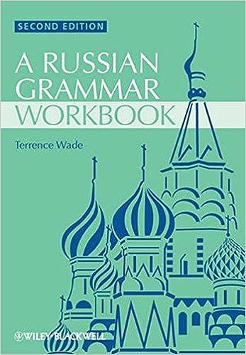 Russian Grammar 2nd Ed Oxford