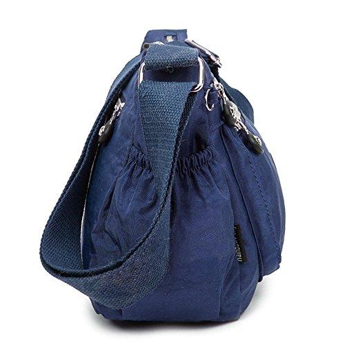 Moonbuy - Bolsos Mujer azul marino