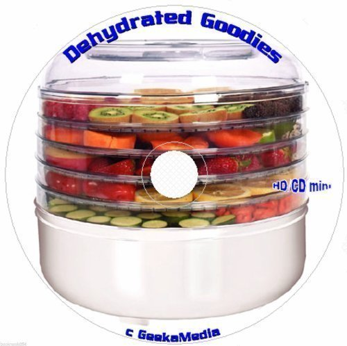 Food Dehydrator Cookbook Library: 19 Books and Guides C143