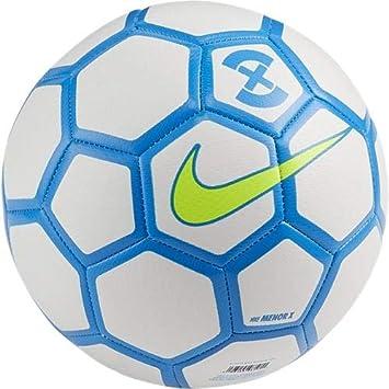 Nike Balon Menor X Blanco-Azul Futsal - T5: Amazon.es: Deportes y ...