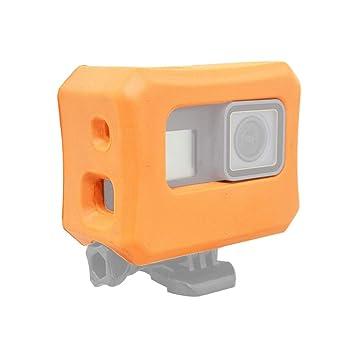 Hzjundasi Flotante Boya Estuche - Anti Lavabo Flotador Flotabilidad Caja Floaty Custodia para GoPro Hero 7 / Hero 6 / Hero 5 Acción Cámara: Amazon.es: ...