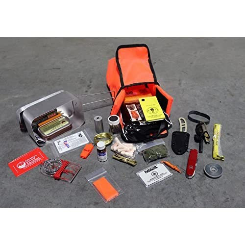 Image of Backpacking Packs ESEE Survival Kit in Mess Kit
