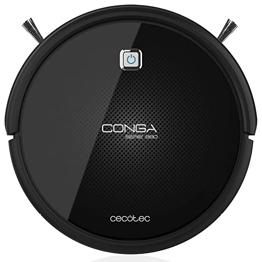 Cecotec Conga Serie 990 Robot Aspirador Y Fregasuelos Negro ...