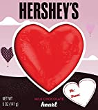 HERSHEY'S Valentine's Solid Milk Chocolate Heart, 5 Ounce