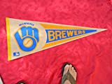 1970'S/80'S MILWAUKEE BREWERS Baseball Pennant EXCELLENT CONDITION