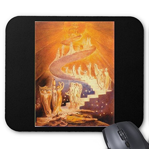 Zazzle William Blake's Jacob's Ladder Mouse Pad