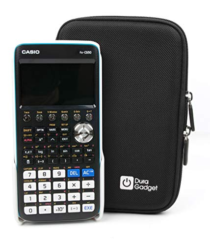 - DURAGADGET Hard Black Portable EVA Case with Zipper for The Casio FX-CG50