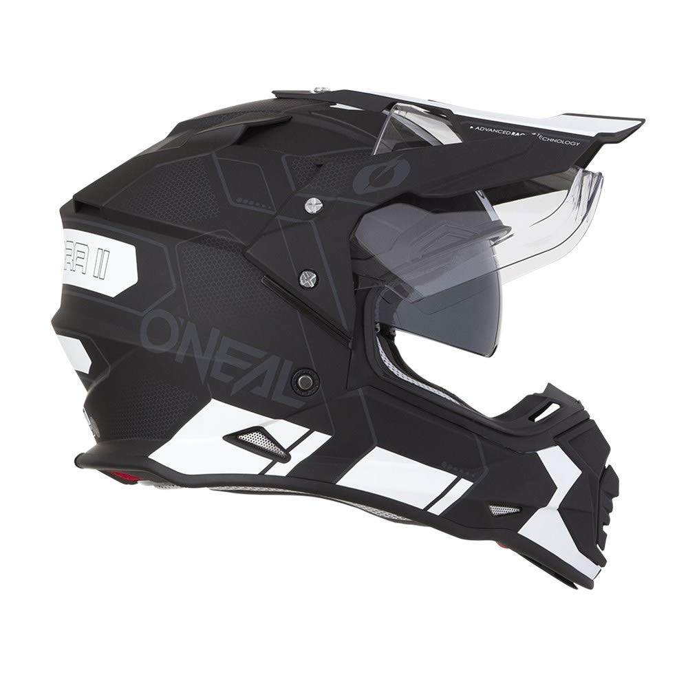 O'Neal Unisex-Adult Off Road SIERRA II Helmet (COMB) Black/White Small by O'Neal (Image #1)