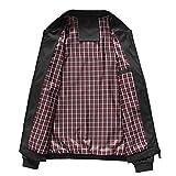 Men's Casual Lightweight Flight Jacket Softshell Zipper...