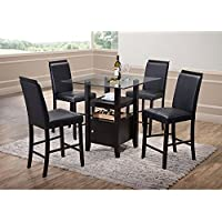 K & B Furniture Lynnfield Counter Height Dining Chair - Set of 2