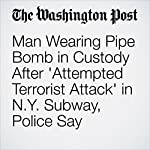 Man Wearing Pipe Bomb in Custody After 'Attempted Terrorist Attack' in N.Y. Subway, Police Say | Mark Berman,Lindsey Bever,Amy B. Wang,Devlin Barrett