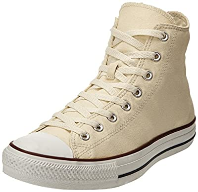 Converse Women's Chuck Taylor All Star Hi Top Unbleached White Canvas Shoes Womens 7