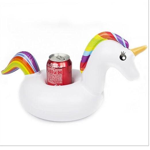 Unicorn flotador puerta piscina hinchable Cup, los barcos ...