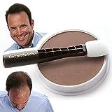 DermMatch Waterproof Hair Loss Concealer. Naturally Thicker Than Hair Fibers & Spray Concealers. (Medium Brown)