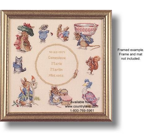 Stitch Pattern Peter Cross Rabbit (Beatrix Potter Storybook Sampler Cross Stitch (623))