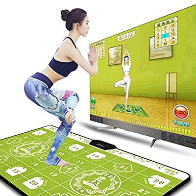 Dance mat Quality Wired Dancer Blanket Mat 68 Games for Kids and Adults PVC Home PC TV Dual Interface Yoga Weight Loss Fitness -2020: Home & Kitchen